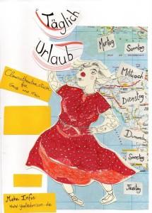 """Clownstheaterstück: """"Täglich Urlaub"""" mit Yaelle aus Dresden"""